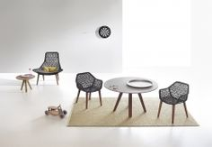 Kettal | Maia | Dining armchair Maia Rope