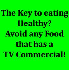 CHOSE HEALTHY FOODS