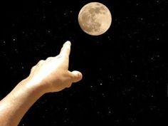 """""""Quand le sage montre la lune,l'imbécile regarde le doigt .""""  proverbe chinois"""