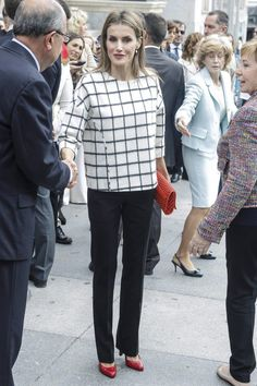 Queen Letizia attends Spain's Red Cross Day 10/8/2014