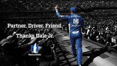 My favorite goodbye photo of Dale Earnhardt Jr. November 19,2017 retiring from NASCAR racing career