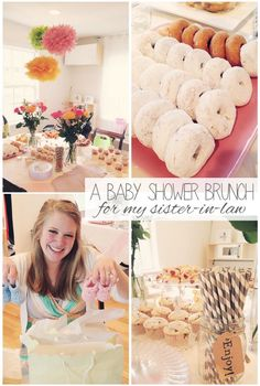 Brunch Baby Shower via Loulou and Jones