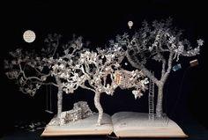 LE FIABE PRENDONO VITA con la Paper Art di Su Bleckwell