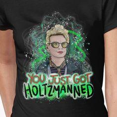 Jillian Holtzmann Ghostbusters T-Shirt