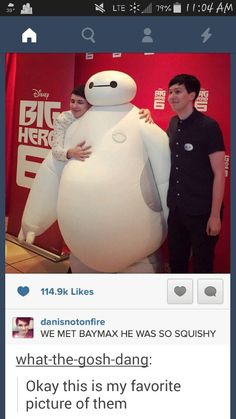 I thought phil would be the one in white and hugging him! Have they switched personalities o.O