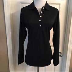 Nike Golf Dri-Fit Shirt Brand new with tags black Nike Golf Dri-Fit shirt. Size M Nike Tops Button Down Shirts