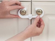 Picture of recalled Cabinet Slide Lock recalled by Safety 1st