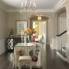 Living room? paint colour Benjamin Moore Wheeling Neutral HC-92 with BM White Dove trim color (or revere pewter walls)