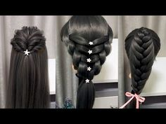 Back To School Hairstyles - YouTube