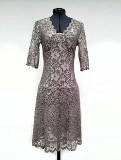 BCBG Nude Lace Dress