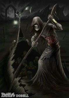 Charon And The River Of Styx