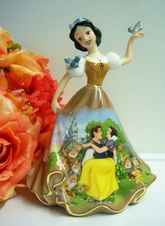 Snow White's Wish Disney Bell Figurine Dresses and Dreams | eBay