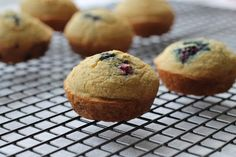 Blackberry Cornbread Dinner Muffins - Treats With a Twist