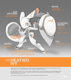 SYNC: Heatwo the Robot Rabbit by TysonTan on deviantART