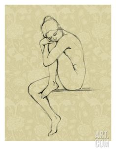 Sophisticated Nude IV Giclee Print by Ethan Harper  FOR THE BATHROOM