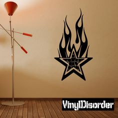Star Wall Decal - Vinyl Decal - Car Decal - 001