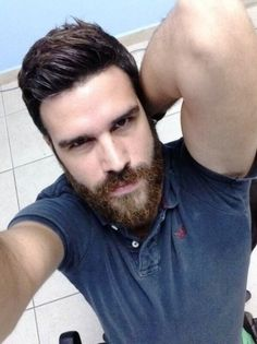 Mens Hairstyles For Beards Pictures