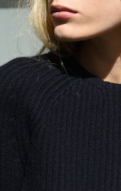 Carven Ribbed Wool Pullover