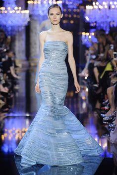 04b9c705d41 Défile Elie Saab Haute couture Automne-hiver 2014-2015 Look 3 found on  Polyvore