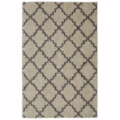 Mohawk Home Briarwick Gray Rectangular Indoor Woven Area Rug (Common: 5 x 8; Actual: 60-in W x 96-in L)