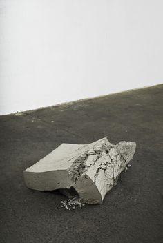 Christoph Weber, 'Beton (geworfen),' 2015 Cement Art, Concrete Art, Art Installations, Installation Art, Contemporary Sculpture, Contemporary Art, Grillin And Chillin, We Will Rock You, Sculpture Painting