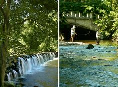 Fly-fishing in Ridley Creek State Park, Delaware County, PA.  #SEPTA Routes: 21, 104, 120, Market-Frankford Line