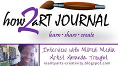 How To Art Journal Q&A with Amanda Trought