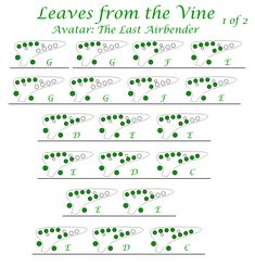 """""""Leaves from the Vine"""" - Jeremy Zuckerman Avatar: The Last Airbender Transverse Taiwanese C Ocarina Music Tabs, Music Chords, Music Songs, My Music, Ocarina Tabs, Ocarina Music, Lugia's Song, Anime Sheet Music, Iroh Quotes"""