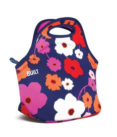 BUILT Gourmet Getaway Soft Neoprene Lunch Tote Bag - Lightweight, Insulated and Reusable, Lush Flower Lampe Miffy, Lunch Box Containers, Australian Gifts, Road Trip Snacks, Best Lunch Bags, Picnic Lunches, Lunch Cooler, Travel Umbrella, Insulated Lunch Bags