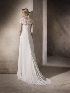 Patrick presents the wedding dresses and cocktail dresses from the St. Patrick, White One and La Sposa Collections. La Sposa Wedding Dresses, Fashion Group, Bridal, Beautiful Dresses, Marie, Wedding Day, Tulle, Chiffon, Gowns