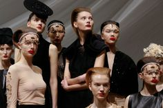 Berlin Fashion, Alexander Mcqueen, Halloween Face Makeup, January 14, News, Alexander Mcqueen Couture