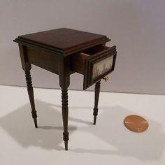 Golbert Mena - scrimshaw table