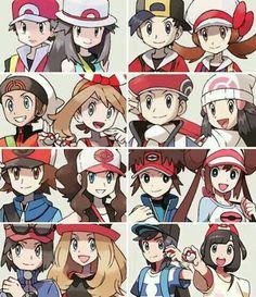 Pokemon Generaciones