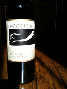 Wine Review: Frogs Leap 2010 Zinfandel Napa Valley http://vinopete.com/frogs-leap-2010-zinfandel-napa-valley/
