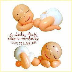 Balloon Crown, Balloon Face, Baby Balloon, Baby Shower Balloons, Baby Party, Baby Shower Parties, Baby Shower Themes, Balloon Lanterns, Balloon Centerpieces