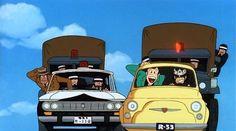 Lupin the Third Cagliostro no Shiro Hayao Miyazaki, Fiat 500, Arsen Lupin, Studio Ghibli, Kuzu No Honkai, Katsuhiro Otomo, Lupin The Third, Les Oeuvres, Dream Cars