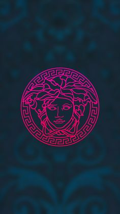 versace, wallpaper, background, phone, simple, clean, minimalism, illustration, designed by Nenad Popadic #versace #medusa
