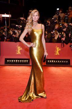 toni garn berlin gold dress