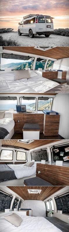 30+ Comfy RVs Camper Van Conversion Inspirations on A Budget  IT'S AN EXPRESS I HAVE AN EXPRESS OMG