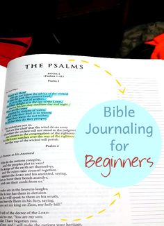 If you are looking for some slick, put together Bible Journaling, you're in the wrong place. I'm a beginner, a word weaver Bible journaling.