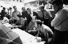 45 Years Later: Apollo 13 Life Lessons - A group of astronauts and flight controllers monitor the console activity at mission control in Houston during the Apollo 13 crisis. | NASA