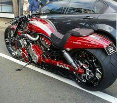 Darkside Custom Harley Davidson Visit us today :) Vrod Custom, Custom Harleys, Custom Street Bikes, Custom Bikes, Harley Bikes, Harley Davidson Motorcycles, Harley Gear, Moto Bike, Motorcycle Bike
