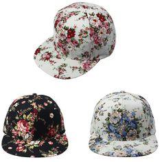floral cap via Aliexpress