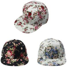 floral cap via Aliexpress