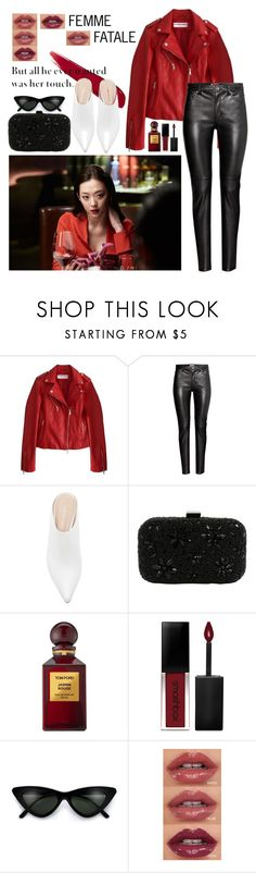 """FEMME FATALE with Sulli"" by krisscoryfransiska ❤ liked on Polyvore featuring Santi, Tom Ford and Smashbox"