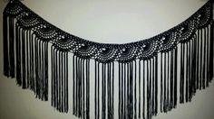 Mantoncillo hecho a crochet Crochet Belt, Crochet Yoke, Crochet Collar, Thread Crochet, Crochet Scarves, Crochet Clothes, Crochet Earrings, Lace Patterns, Crochet Patterns
