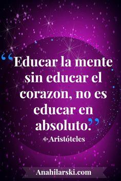 Acertada frase de Aristoteles! #Reflexion #Frases #Motivacion