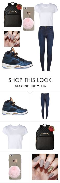 """""""regular style"""" by d-baby23 on Polyvore featuring NIKE, 7 For All Mankind, RE/DONE and Betsey Johnson"""