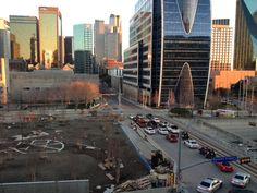 future site of The Park Dallas