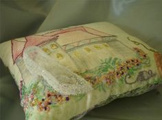 Cinderella Tooth Fairy Pillow by GuineveresFolly on Etsy, $40.00
